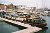 House Boat - Ramsgate Harbour (jcbkk1956) Tags: film 35mm boats kent dock harbour houseboat manual agfa vivitar barge quayside ramsgate thanet 35ee worldtrekker