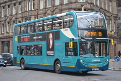 Arriva North West 4573 DK64BVH (Will Swain) Tags: city uk travel england west bus buses liverpool october britain centre north transport vehicles vehicle 31st merseyside arriva 2015 4573 dk64bvh
