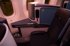 KLM Boeing 787 Welcome flight (Iemand91) Tags: dutch amsterdam night evening flight royal class business sunflower boeing welcome klm airlines schiphol zonnebloem koninklijke 787 dreamliner maatschappij luchtvaart 7879 b789 kl9899