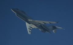 ZJ691 (Rob390029) Tags: blue sky turn flying force aviation military air transport flight royal transportation express airborne overhead raf global sentinel bombardier zj691