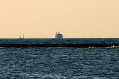 Wilson Avenue Crib Lighthouse, Illinois (lighthouser) Tags: lighthouse illinois crib wilsonavenue lighthousetrek