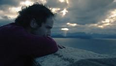 Drown Out (J.J.Evan) Tags: sunset sky lake man mountains church clouds lago atardecer tears iglesia cielo nubes otoño hombre montañas lágrimas