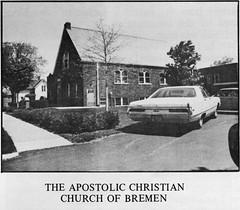 1971 - Apostolic Christian Church of Bremen