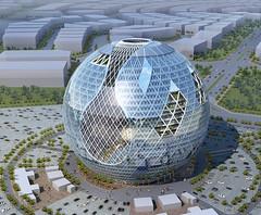 Проект комплекса для Дубая от Cybertecture