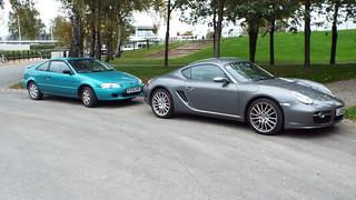A really nice car.....and a Porsche