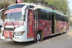 bus (GlobalCitizen2011) Tags: karachi sind sindh sindhi ajrak sindhcultureday