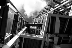 The Shard (Chris A M) Tags: blackandwhite bw london geometric monochrome architecture shard