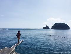 10 October 2015: Twin Rock Beach Resort | Catanduanes, Bicol, Philippines (lobsterpaints.com) Tags: travel beach photography philippines dive resort catanduanes bicol shadesofblue diveboard twinrock twinrockbeachresort