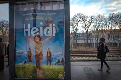 Aryan vs. Turk. Berlin, December 2015. (joelschalit) Tags: berlin film turkey germany heidi refugees islam trains ubahn immigrants muslims citizenship immigration ethnicity advertizing neuklln brunoganz multiculturalism