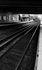Railway Tracks (sinbadcc1) Tags: traintracks perspective queens lirr railwaytracks 2015