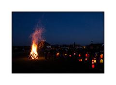 Soufflenheim (Pierre_Bn) Tags: noel alsace enfants lampion feu soufflenheim saintelucie