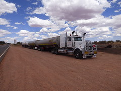Northern Territory road-train (mekong69) Tags: truck australia outback redheart downunder roadtrain northernterritory australie oceania océanie lasseterhighway