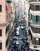 The Traffic of Life ([Jim]) Tags: rome italy europe city centre narrow vanishing point street distance old crowded busy bustling