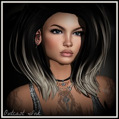 Post #648 (Outcast INK) Tags: realevilindustries sntch wowskins euphoric insufferabledastard swallow kustom9 catwa anlarposes