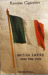Flag Irish Free State nka Republic of Ireland (rhonddalad) Tags: irishfreestate flagofireland flag flags republicofireland southernireland tricolour cigaretteinserts vexilology
