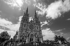 DSC00049 (Damir Govorcin Photography) Tags: clouds people sydney st marys cathedral building architecture natural light religion worship catholic history zeiss 1635mm sony a7rii wide angle perspective composition creative