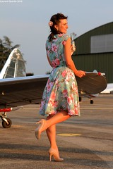 Pin Up Patrouille Swift (Laurent Quérité) Tags: pinup patrouilleswift femme woman people girl france portrait canonef2470mmf28lusm canoneos7d