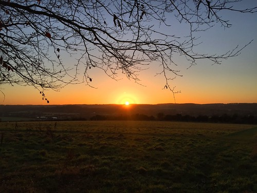 Windmill Hill Sunset