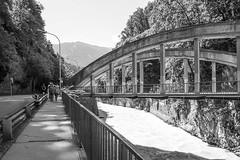 Camino a Feldkirch (Anvica) Tags: feldkirch austria puente blancoynegro blackandwhite bridge fuji xt1