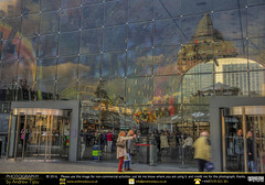 Markthal Reflections (andrewtijou) Tags: andrewtijou nikond7200 europe netherlands southholland dutch rotterdam markthal glass reflections nl