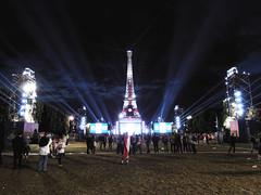 2016.06 - Paris, France (rambles_pl) Tags: paris france euro europe euro2016 eiffel tower eiffeltower night light lights football