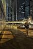 L1010727 Rainwalk by Night (idunavision) Tags: hongkong night nachtaufnahmen light lichter illumination leica exchangesquare rain typhoon taifun regen water wasser spiegelungen reflection architecture architektur city stadt