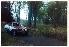1975 Datsun 106J SSS on rally 4/11/78 (Spottedlaurel) Tags: datsun 160j sss violet 710 rallycar jfh202n