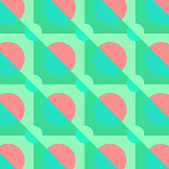 Pink Moonrise (The Wallpaper Files) Tags: pink green blue moon moonrise geometric pattern