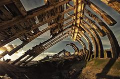 Hooe Hulk (Project 6/52) (Frosty__Seafire) Tags: hooe lake ship boat wreck rot rotting sigma 1020 plymstock plymouth