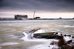 Winter at Vänern (Susanne Hjertø Wiik) Tags: köpmannebro långö naturlandskapnaturfenomen steder vær dramatiskhimmel landskap lugnet mellerud skyer sverige vinter vänern årstid