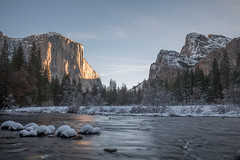 I Stopped Here Again And Again And Again (tourtrophy) Tags: yosemitenationalpark elcapitan yosemitevalley valleyview bridalveilfalls yosemite merced river snow winter canoneos5dmark3 canonef1635mmf4lisusm
