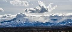 Mountains Making Weather (maytag97) Tags: maytag97 idaho owyhee mountain range winter season landscape outdoor cloud sky desert nikon d750