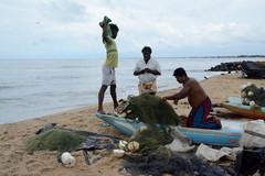 Negombo / මීගමුව (Sri Lanka) - Beach (Danielzolli) Tags: srilanka lanka ceylon lka ශ්රීලංකා இலங்கை negombo මීගමුව beach strand playa plage plaż piaggia plaża пляж fishermen fischer pescador pescatori fisch fish pesce poisson pescado ryba riba fisk