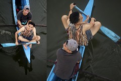Untitled-1 (jeridaking) Tags: boat boatman waves pov bridge blue up eye view boatmen fishing fisherman pinoy filipino portraits ralph matres jeridaking kintolimbo linao footbridge ormoc leyte fortheloveofphotography