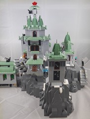 View from west (donuts_ftw) Tags: mountain temple lego monastery fantasy scifi mountaintop