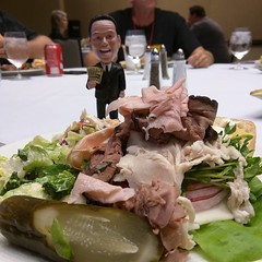 John Chow can eat a lot of food!