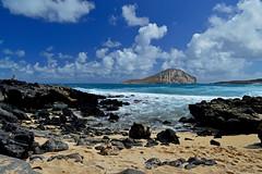 Morning at Makapu'u (jcc55883) Tags: ocean sky clouds hawaii nikon oahu shoreline pacificocean shore rabbitisland nikond3200 makapuubeach makapuupoint d3200