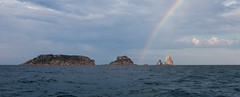 Rainbow Islands (jaumedarenys) Tags: arcoiris rainbow catalonia catalunya agost 2015 arcdesantmart medesislands illesmedes