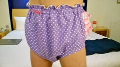 Tena Ultima Overnight Diapering in Chastity (Nikki_E-Chastity) Tags: wet diapers dl maxima chastity tena chastitybelt diapercover abdl diaperlover steelworxx chastitycage chaatised