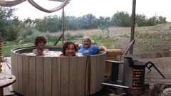 DutchTub wood con Patrizia, Anto e Dani