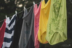 9-23-15 My Amish Clothesline (AhNicky) Tags: canon backyard sigma pins amish clothes laundry hanging clothesline f28 drying 105mm 92315 79d