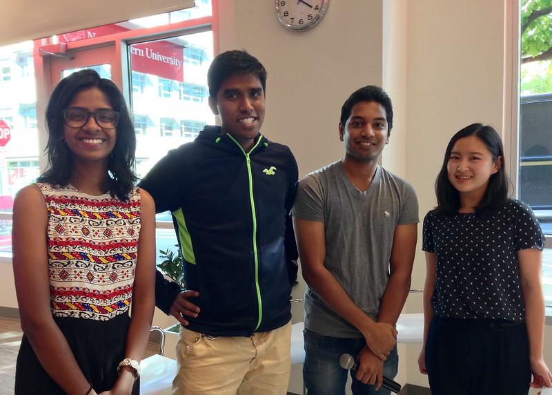 International Student Experience Panelists
