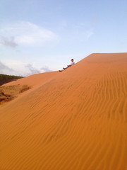Slope (stateofvision) Tags: travel holiday scale sahara coast back sand asia desert angle ripple dunes south dune archive surface ne east vietnam backpacking heat sloth gradient land kickin southeast dust kicking utopia slope sanddunes incline ascent offbeat wasteland basking realm iphone muine mui gradual 2015 vietnamarchive