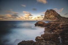 Rocks (Ricky92f) Tags: sea canon landscape long exposure mare foto pics sigma di monte palermo 1020 sicilia cappello haida bagheria sunscape aspra mongerbino porticello napoleone catalfano nd1000 60d