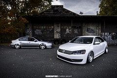 IMG_3177 (Chris Whit) Tags: urban vw volkswagen graffiti zoom air low 85mm upstateny bags f18 passat f28 lowered dropped slammed vdub airlift kingstonny airbags airride ccv layedout mk6 1116mm dubempire teamcanon rotiform accuair bagriders allthingsproper chriswhitphoto