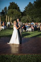 Kelly & Brian [08.22.15] (Andrew H Wagner | AHWagner Photo) Tags: wedding portrait people canon eos 50mm bride dad dof bokeh father weddingday f12 weddingphotography 50l f12l 5dmkiii 5dmk3 5d3 5dmarkiii 5dmark3