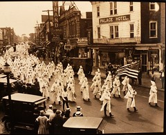 Ku Klux Klan photo National Immigration Museum Ellis Island (MisterQque) Tags: racism ellisisland prejudice kukluxklan nationalimmigrationmuseum