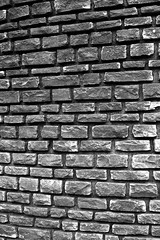 Stone wall (adamopal) Tags: blackandwhite monochrome wall canon stonework fortbellefontaine canon7d canon7dmkii canon7dmarkii fortbellefontainecountypark