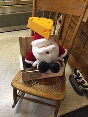 Thrift mall finds (ilamya) Tags: santa christmas wisconsin store decoration thrift cheesehead