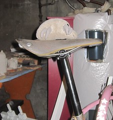 Zero-offset mite (Tysasi) Tags: bike trek stars conversion steel c15 fenders 820 brooks seatpost cambium randonneur dustmite randonneuse 650b mountaintrack bikemess fdmb zerooffset mountainhack